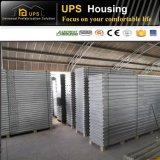 Casa ligera prefabricada bien acabada de la estructura de acero de la asamblea rápida