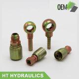 Montaggio di tubo flessibile idraulico femminile del acciaio al carbonio di Huatai