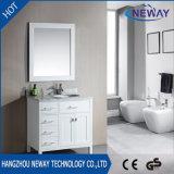 Vanità diritta del dispersore della stanza da bagno del pavimento americano con lo specchio