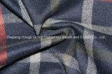 Tessuto di T/R tinto filato, stile del plaid, poliestere di 65%, rayon di 32%, Spandex di 3%, 280GSM