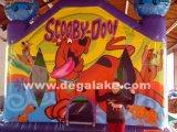 Aufblasbares Scooby Hundeschlag-Haus für Unterhaltung