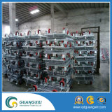 Wire Mesh Cage with 4 Casters