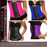 Parte superiore all'ingrosso della signora Sexy Steel Bonded Waist più i corsetti di formato