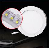 正方形LEDの天井灯12W表面のIntallation