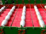La Russie populaire 1100 a glacé le roulis de tuile formant la machine