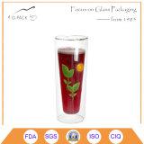 500ml Wholesale mehrfachverwendbare Glaskaffeetasse