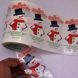 Contrassegno trasparente del PVC & contrassegno di marca per i regali di natale