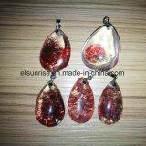 Piedra preciosa semi Moda Cristal Gema Beadjewelry colgante (ESB01406)