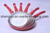 De handvat Met een laag bedekte Non-Stick Pan van het Aluminium voor Cookware Reeksen sx-Yt-A035