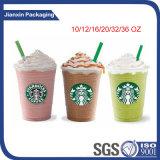 De aangepaste Koppen van de Koffie van Starbucks met Deksel