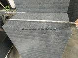 De opgepoetste Donkere Grijze Tegels 60X60 van de Vloer van het Graniet