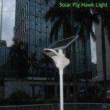 alumbrado público de movimiento 15W del detector de la lámpara de los productos elegantes solares del jardín con el panel solar ajustable
