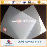 単一の二重スムーズな表面のHDPE Geomembrane