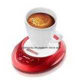 Fiche CC tasse plus chaud avec LED, tasse tasse à café électrique plus chaude