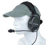Radiokopfhörertaktischer Militärneckband-Kopfhörer für Wargame und Armee Cl42-0023