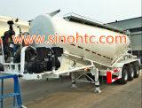 reboque do tanque do reboque/cimento do tanque do pó de maioria 40-55cbm