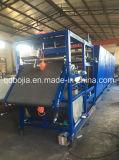 Machine de refroidissement de feuille en caoutchouc à Qingdao