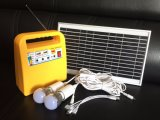 Système solaire 10W 12V7.2ah de groupe électrogène de cycle profond rechargeable de qualité