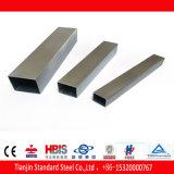 Pipe rectangulaire de grand dos d'acier inoxydable d'AISI 316