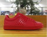 متحمّلة أحمر وأبيض نمط لوح التزلج حذاء رياضة