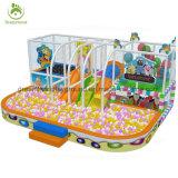Fantastisches verwendetes Plastikinnenspielplatz-Gerät mit Kugel-Pool für Verkauf