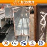 Scaletta di alluminio della cavità dell'espulsione del fornitore cinese per la finestra di scivolamento