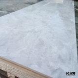 人工的な石造りの白い樹脂の石のStaronのアクリルの固体表面