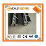 0.6/1kv 11kv, PVC 33kv/XLPE/câble empaqueté aérien d'ABC d'entretoise de câble de boîte de vitesses électrique supplémentaire isolé par PE
