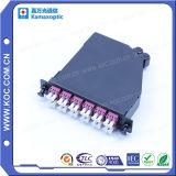 Гпо/PC-LC/блок защиты и коммутации 12 оптоволоконных мини-раунда Om4-550 пурпурный патч шнуры питания