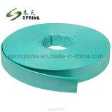 La poser à plat en PVC flexible du tuyau de décharge pour l'irrigation