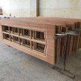 最新のデザイン木の表玄関デザインカタログのドアの内部のヨーロッパ人