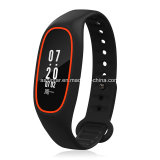 L'inseguitore IP68 di forma fisica di Bluetooth del video di frequenza cardiaca impermeabilizza OLED un braccialetto astuto da 0.91 pollici