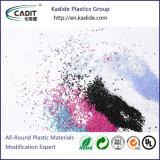 Специальный изменения пластмассовых материалов гранулы ПК для тележки Masterbatch случаев