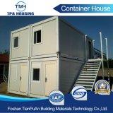 Schnelle Montage-anpassungsfähiges Behälter-Stahlrahmen-Haus