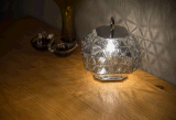 De moderne Retro Verlichting van de Tegenhanger van het Glas van de Woonkamer van het Huis (ap9022-1)