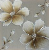 Wall Arts Handmade Golden delicious Flowers Oil Painting for Decoration
