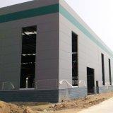 Stahlrahmen-Aufbau/fabrizierte Gebäude-Werkstatt/Stahlkonstruktion-Lager vor