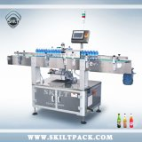 Machine à étiquettes d'étiquette de bâton de bouteille ronde avec l'imprimante