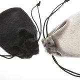 새로운 최신 디자인 끈을%s 가진 다중 기능 색안경 Eyewear 고품질 모피 코드 유리 그릇 진열장 주머니 및 Wenzhou 공장에서 승진을%s 단추
