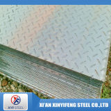Placa Checkered laminada do aço inoxidável da espessura 304 de 4mm