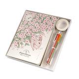 Pen와 Stickers, Diary Set를 가진 Notepad 2018년 계획자