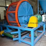 Zps 900 resíduos retalhados dos pneus ISO9001 Venda quente máquina de reciclagem de pneus