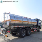 Sinotruk HOWO 6X4 10 짐수레꾼 기름 석유 연료 탱크 트럭
