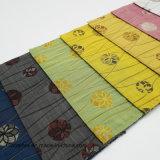 Tela de tapicería teñida hilado de la almohadilla de la silla del sofá de la materia textil del hogar del poliester del telar jacquar