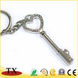 Corrente chave personalizada presente do metal da promoção