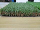 Relvado artificial da grama para o jardim e ajardinar de telhado