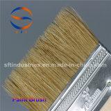 Mango de madera fina Cepillos de cerdas de plástico reforzado con fibra