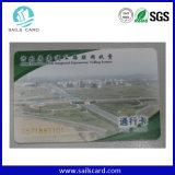 13.56MHz Mf DESFire EV1 2k, 4k, carte d'identification de proximité de PVC 8k