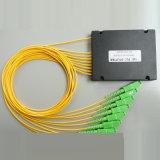 divisore ottico del PLC della fibra del contenitore di ABS 1X8