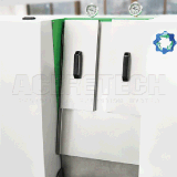 Máquina de recicl plástica para as peças ocas que Shredding a peletização
